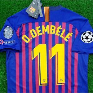 18/19 Barcelona soccer jersey Nike Dembele